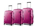 DUNE Spinner Trolley Set 79/67/55cm (purpurová lesklá)